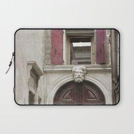 Venetian Door in Eggplant Purple Laptop Sleeve