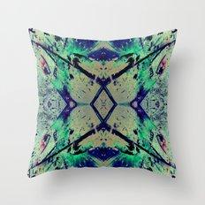 Paint Splatter II Throw Pillow