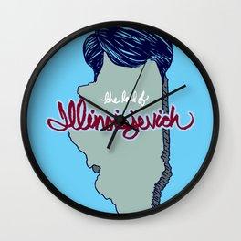 Illinoisjevich Wall Clock