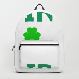 Chicago Irish Southside St Patrick's Day print Backpack
