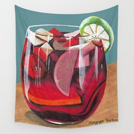 Fruit cocktail Wall Tapestry