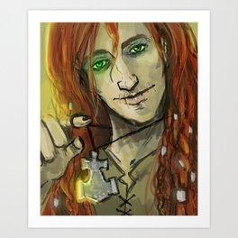 Norse Loki Art Print