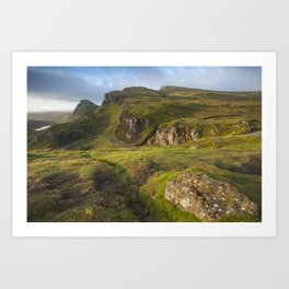 Mesmerized By the Quiraing II Art Print