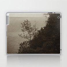 On Edge - Black and White Laptop & iPad Skin