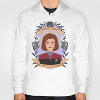 heymonster Hoodies featuring Kathryn Janeway by heymonster