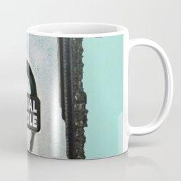 HEWGE TAKE A SELFIE FAKE A LIFE OA WITH BORDER Coffee Mug