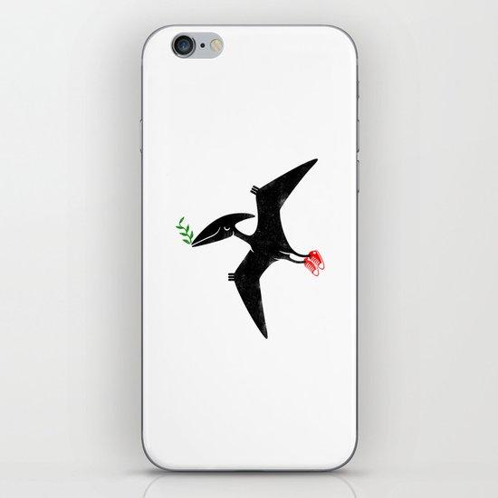 PTERODACTYL OF PEACE iPhone & iPod Skin