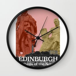 Edinburgh - Athens of the North Wall Clock