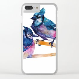 Blue Jays Clear iPhone Case