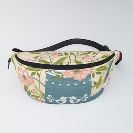 Happy Birds Making Things Beautiful Together Fanny Pack