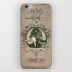 Legend of Zelda Link The Hero of Time Vintage Story Book iPhone & iPod Skin