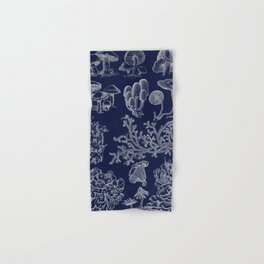 Fungus And Lichen Chart Hand & Bath Towel