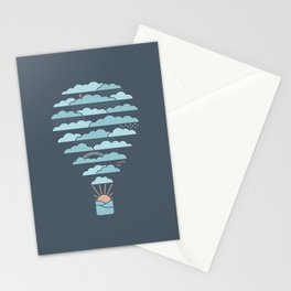 Weather Balloon Stationery Cards
