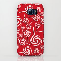 Candy Swirls-Large Slim Case Galaxy S7