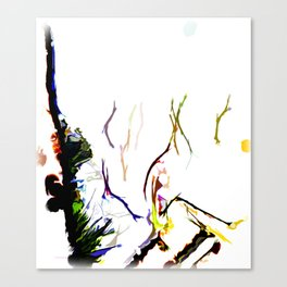 Abstract of Shapes and Color Canvas Print