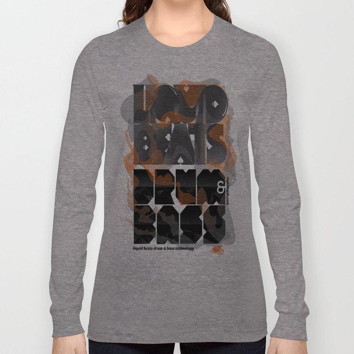 Liquid Beats Long Sleeve T-shirt