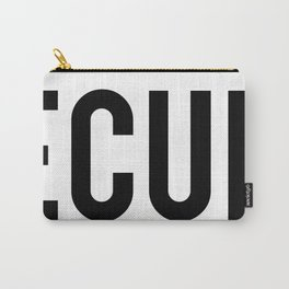 INSECURITY (on dark apparel) Carry-All Pouch