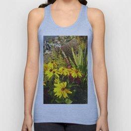 Floral Print 028 Unisex Tank Top