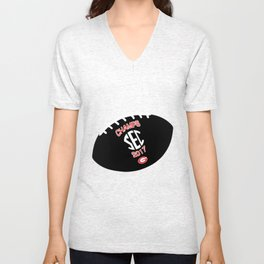 UGA SEC Champs Football Unisex V-Neck