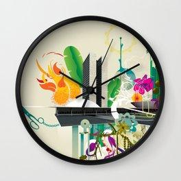 Disorder in Progress Wall Clock