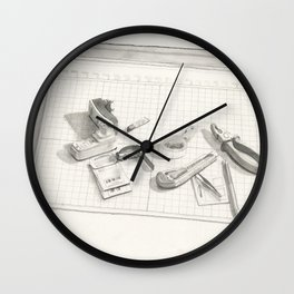 Things on the table Wall Clock