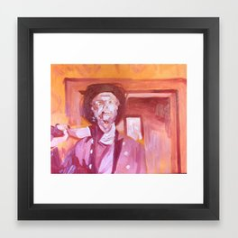 That Cigar Would Be the Death of Him Framed Art Print