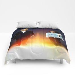 Twin Flames Comforters