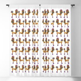 Poodle Dee Doo Blackout Curtain