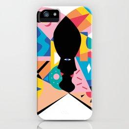 cara libro iPhone Case