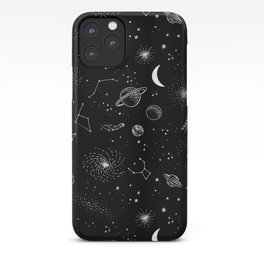 galactic pattern iPhone Case