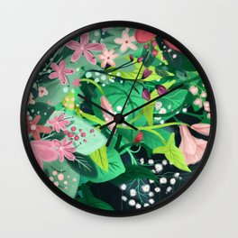 Sad Spring Wall Clock
