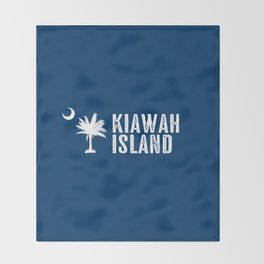 Kiawah Island, South Carolina Throw Blanket