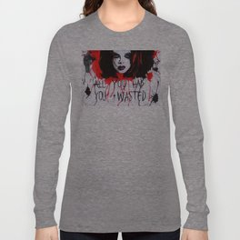 SHIRLEY MANSON (GARBAGE) Stupid Girl artwork Long Sleeve T-shirt