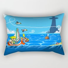 The Legend of Zelda: Wind Waker Advance Rectangular Pillow
