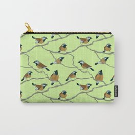 Black-Throated Finches Carry-All Pouch