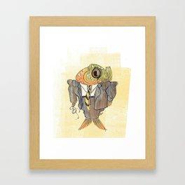 Boss Fish Framed Art Print