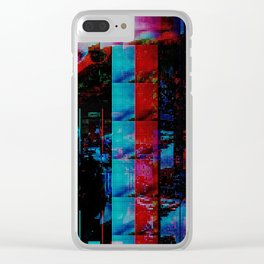 Face of a thousand Voices Clear iPhone Case