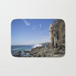 Pirate Tower Laguna Beach Bath Mat