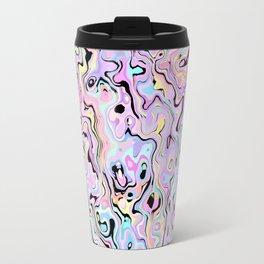 Marbled Pastel Travel Mug