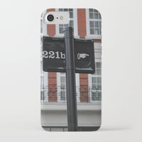 221b iPhone & iPod Cases featuring 221B by Sandrine Bandura