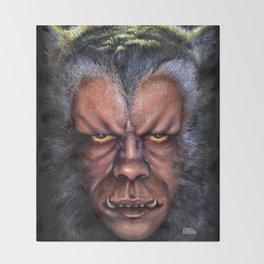 The Werewolf Curse Throw Blanket