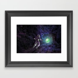 Before you Explore... Framed Art Print