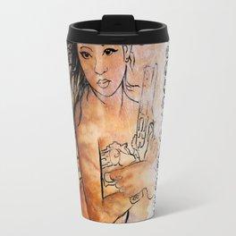 Caliber Love #2 Ornate Travel Mug
