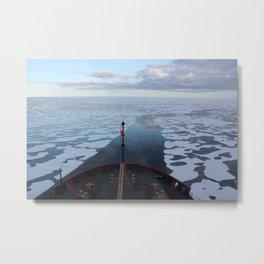1141. U.S. Coast Guard Cutter Healy in the Beaufort Sea Metal Print