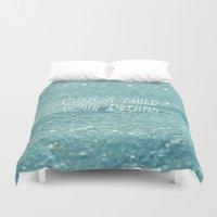 custom Duvet Covers featuring Custom Dreams by Alice Gosling