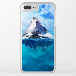 Mystic Haven Clear iPhone Case