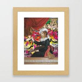 You Missed A Spot Framed Art Print