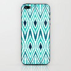 Ikat Jade iPhone & iPod Skin