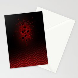 SamGen Logo - Black Stationery Cards