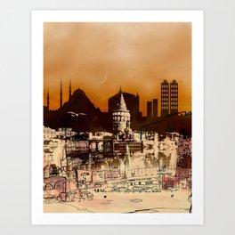 istanbul II Art Print